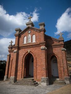 長崎県 小値賀町 旧野首教会の写真素材 [FYI04577524]