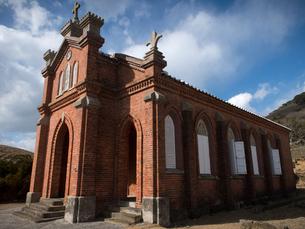 長崎県 小値賀町 旧野首教会の写真素材 [FYI04577525]