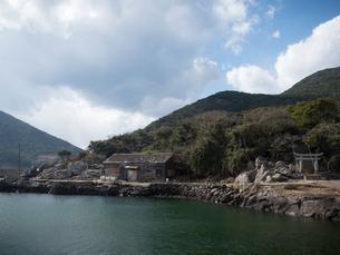 長崎県 小値賀町 野崎島の集落跡の写真素材 [FYI04577534]