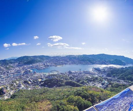 長崎県 風景 稲佐山より長崎市街遠望 の写真素材 [FYI04577897]