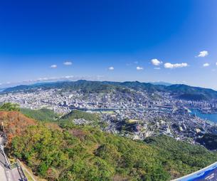 長崎県 風景 稲佐山より長崎市街遠望 の写真素材 [FYI04577898]