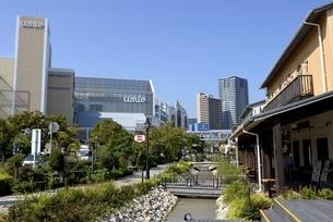 神戸,ハーバーランドモザイクの街並みの写真素材 [FYI04578419]