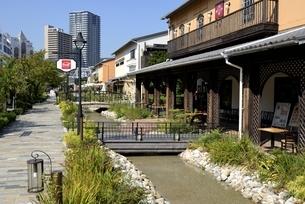 神戸,ハーバーランドモザイクの街並みの写真素材 [FYI04578421]