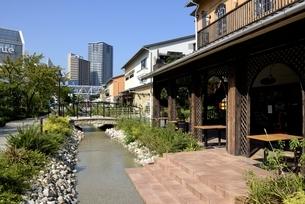 神戸,ハーバーランドモザイクの街並みの写真素材 [FYI04578422]
