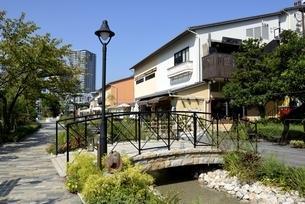 神戸,ハーバーランドモザイクの街並みの写真素材 [FYI04578423]