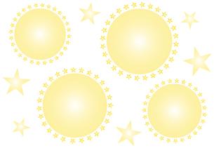 飛沫とウイルスのイメージのシンプルなデザインのフレーム イラストのイラスト素材 [FYI04578654]