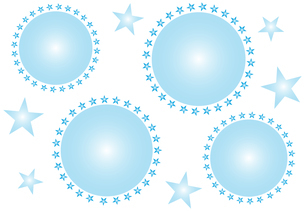 飛沫とウイルスのイメージのシンプルなデザインのフレーム イラストのイラスト素材 [FYI04578655]