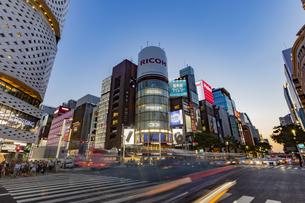 東京都 中央区 銀座 銀座の夜景  の写真素材 [FYI04578795]