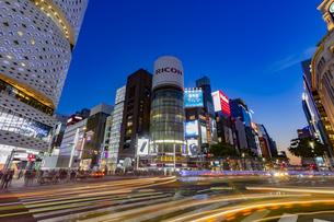 東京都 中央区 銀座 銀座の夜景  の写真素材 [FYI04578800]