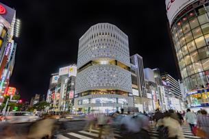 東京都 中央区 銀座 銀座の夜景  の写真素材 [FYI04578811]