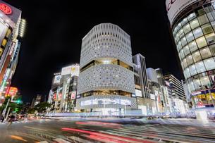東京都 中央区 銀座 銀座の夜景  の写真素材 [FYI04578812]