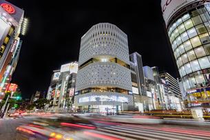 東京都 中央区 銀座 銀座の夜景  の写真素材 [FYI04578813]