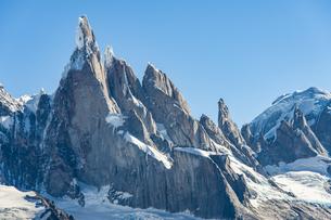 パタゴニアの名峰:セロトーレの写真素材 [FYI04579220]