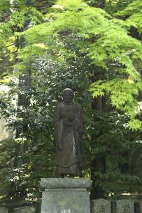 霊山寺行基像の写真素材 [FYI04579405]