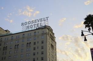 ハリウッドの象徴的なビルの写真素材 [FYI04579776]