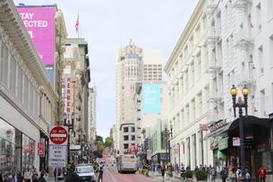 サンフランシスコの美しい街並みの写真素材 [FYI04579799]