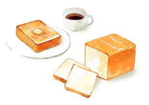 食パンのイラスト素材 [FYI04580062]