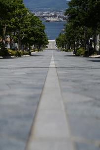 八幡坂の写真素材 [FYI04580274]