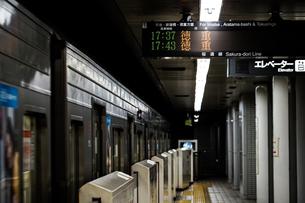 名古屋の地下鉄のイメージの写真素材 [FYI04580378]