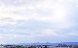 堺市西区の湾岸地帯の写真素材 [FYI04581280]