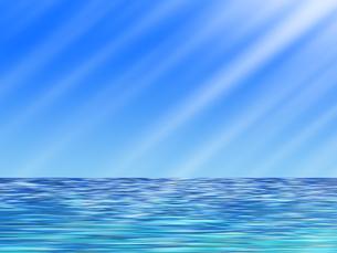 夏の海イラストのイラスト素材 [FYI04581327]