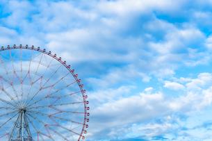 観覧車と青空の写真素材 [FYI04581633]