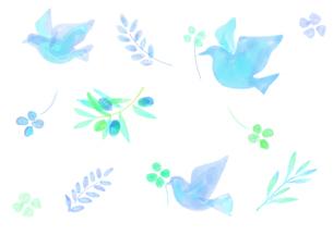 平和イメージのパターンのイラスト素材 [FYI04582001]