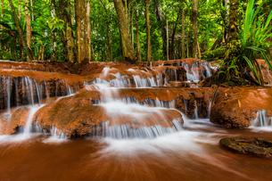 タイ パーワーイ滝の写真素材 [FYI04583221]