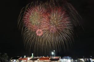 土浦全国花火競技大会の写真素材 [FYI04583807]