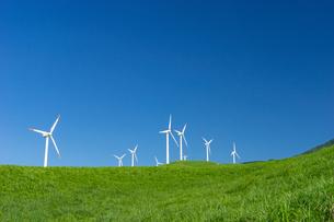 俵山の風力発電の写真素材 [FYI04584022]
