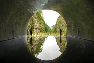 清津峡溪谷の写真素材 [FYI04584311]