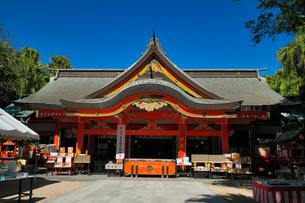 宮崎県 青島神社の写真素材 [FYI04585138]