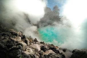 大分県 別府温泉 海地獄の写真素材 [FYI04585201]