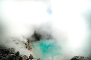 大分県 別府温泉 海地獄の写真素材 [FYI04585203]