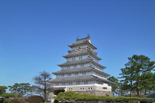 長崎県 島原城の写真素材 [FYI04585212]