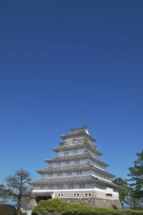 長崎県 島原城の写真素材 [FYI04585213]