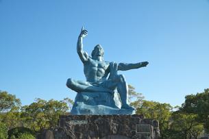 長崎県  平和記念像の写真素材 [FYI04585225]
