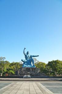 長崎県  平和公園の写真素材 [FYI04585228]