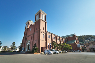 長崎県 浦上天主堂の写真素材 [FYI04585235]