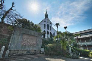 長崎県  大浦天主堂の写真素材 [FYI04585242]
