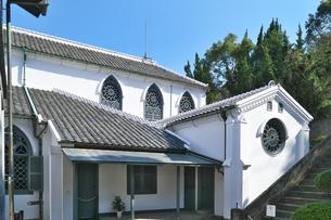 長崎県  大浦天主堂の写真素材 [FYI04585246]