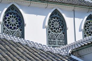 長崎県  大浦天主堂の写真素材 [FYI04585247]