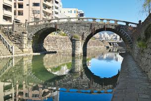 長崎県 眼鏡橋の写真素材 [FYI04585258]