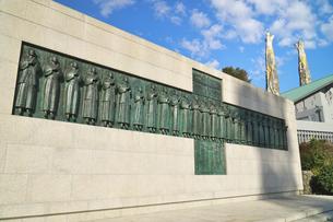 長崎県 日本二十六聖人殉教記念碑の写真素材 [FYI04585273]