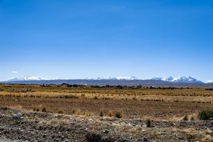 ボリビア・アンデスの支脈・レアル山脈の写真素材 [FYI04585409]