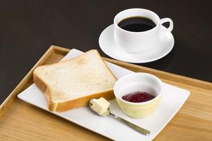 パンの朝食の写真素材 [FYI04585637]
