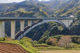 天翔大橋 宮崎県西臼杵郡の写真素材 [FYI04585733]