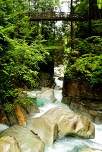 竜神の滝の写真素材 [FYI04586386]