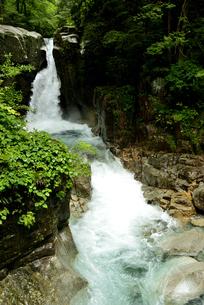 竜神の滝の写真素材 [FYI04586387]