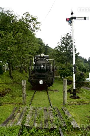 蒸気機関車の写真素材 [FYI04586467]